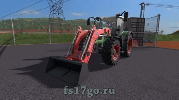 Мод ковш «Hekamp Shovel» для Farming Simulator 2017