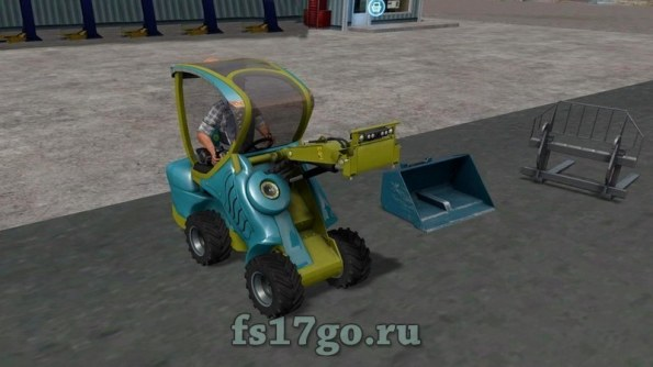 Погрузчик «ITS ITSI Project» для Farming Simulator 2017