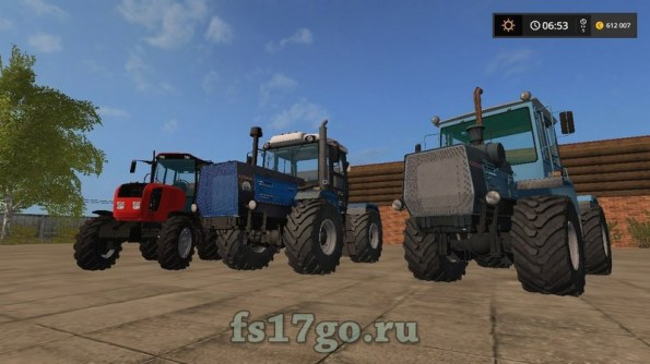 Моды тракторов «Русский пак» для Farming Simulator 2017
