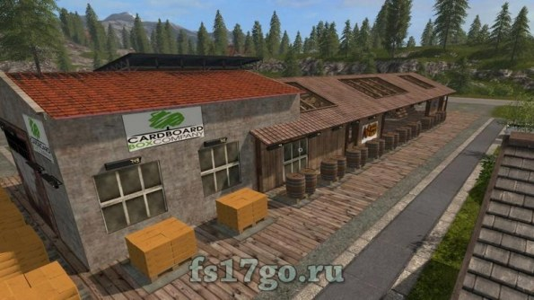 Мод «SawMill Multi Production» для Farming Simulator 2017