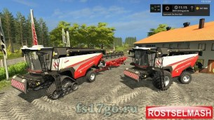 Мод «Rostselmash RSM161» для Farming Simulator 2017