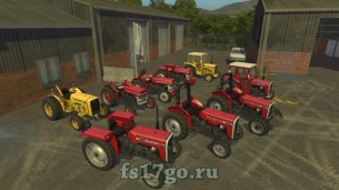 Мод Пак «Massey Ferguson 135 And 240» для FS 2017