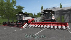 Мод комбайна «Торум 770» для Farming Simulator 2017