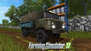 Мод «ГАЗ-66» для Farming Simulator 2017