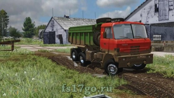 Мод самосвал «Tatra 815» для Farming Simulator 2017