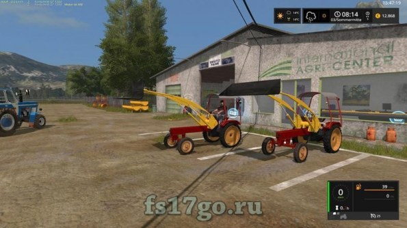 Мод «GT124 + attachments» для Farming Simulator 2017