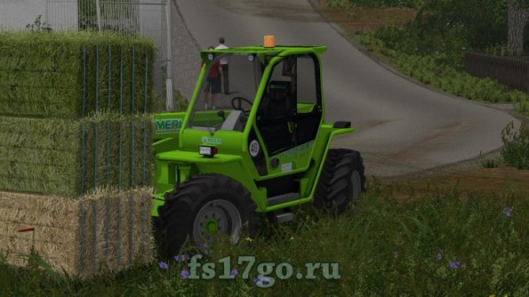 Текстура голубой веревки для тюков в Farming Simulator 2017