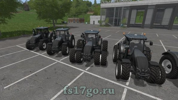 Мод трактора «Valtra S Serie» для Farming Simulator 2017