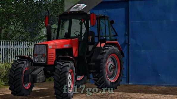 Мод трактор МТЗ-1221 «Сарэкс» для Farming Simulator 2017