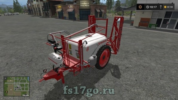 Мод «Agromehanika AGS» для Farming Simulator 2017