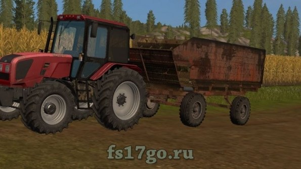 Мод «КТУ-10» для Farming Simulator 2017
