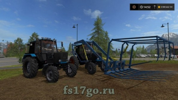 Трактор «МТЗ-82 Стогомет» для Farming Simulator 2017