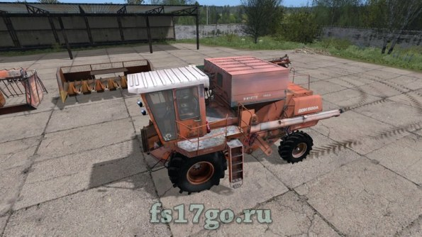 Мод «Дон 1500А» для Farming Simulator 2017