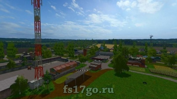 Карта «Сынява» для Farming Simulator 2017