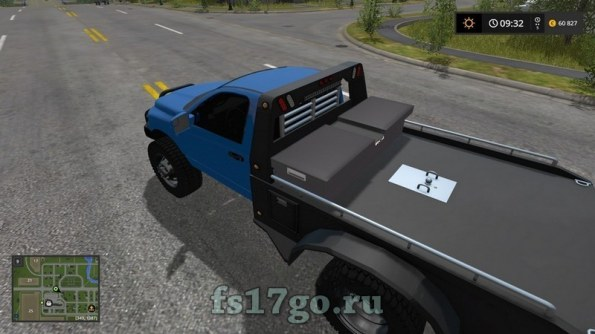 Мод «Dodge Ram Flatbed Edit» для Farming Simulator 2017