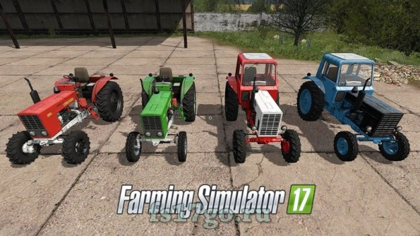 Мод «МТЗ Пак от Bear Farm» для Farming Simulator 2017