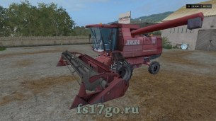 Мод комбайна «Лида-1300» для Farming Simulator 2017
