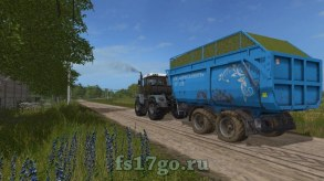 Мод Пак прицепов «ПС-15Б» для Farming Simulator 2017