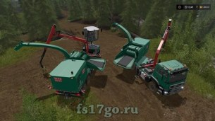 Мод «Forest extension for the MAN TGS 6x / 8x / 10x AR-Pack» для FS 2017