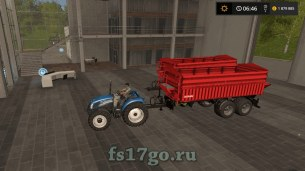 Мод «Grimme Multitrailer 190» для Farming Simulator 2017
