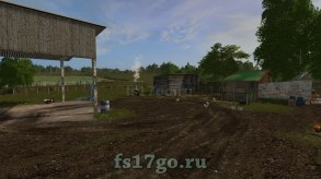 Карта «СибАгроКом» для игры Farming Simulator 2017