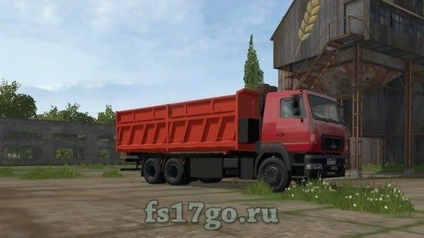 Мод «МАЗ-6501B9-470-031» для Farming Simulator 2017