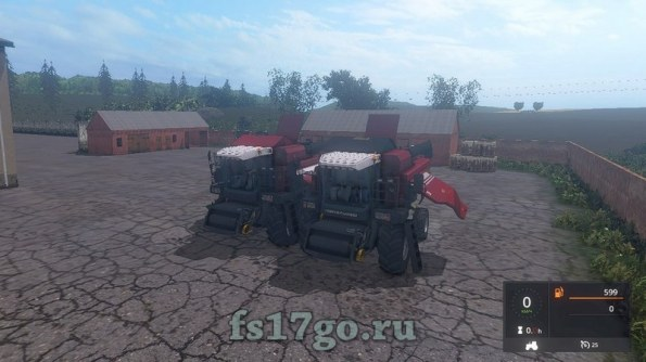 Мод «Палессе ГС-12 от demoon» для Farming Simulator 2017