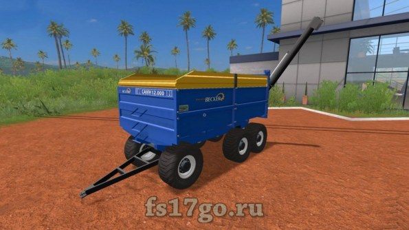 Мод «Industrial Becker CAMH 12000» для Farming Simulator 2017