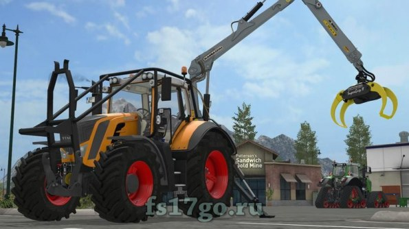 Мод «Fendt Vario S4 800 Series» для Farming Simulator 2017
