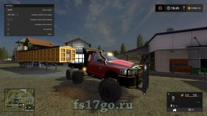 Мод «Dodge 3500 HD» для Farming Simulator 2017