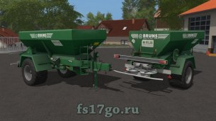 Мод «Bruns MBA 12000» для Farming Simulator 2017