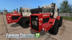 Мод «Кировец К-710 Edit» для Farming Simulator 2017