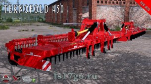 Мод «Breviglieri Teknofold 450 800» для Farming Simulator 2017