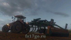 Мод «Amazone Cenius 3002T» для Farming Simulator 2017