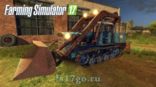 Мод «ДТ-75 Стогомет» для Farming Simulator 2017