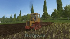 Мод «КТЗ Т-70» для Farming Simulator 2017