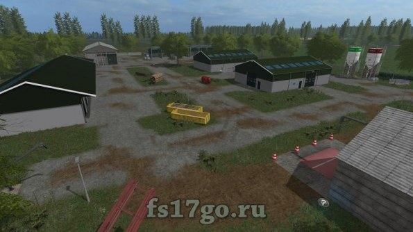 Карта «GreenRiver 2017» для Farming Simulator 17