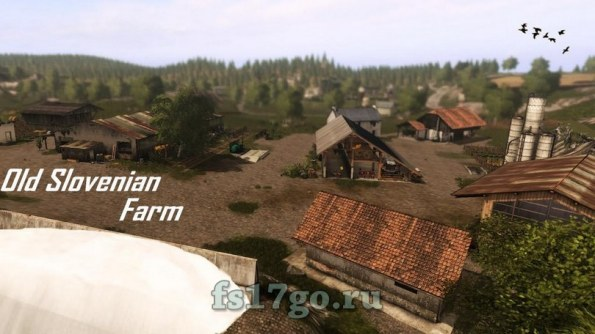 Карта «Old Slovenian Farm» для Farming Simulator 2017