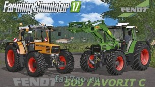 Мод «Fendt Favorit 512 C» для Farming Simulator 2017