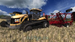 Мод трактора «CAT MT865B» для Farming Simulator 2017