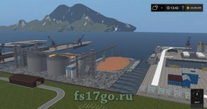 Карта «Islands From Vaszics» для Farming Simulator 2017