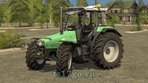 Мод «Deutz Agrostar 6.08 - 6.38 DH» для Farming Simulator 2017