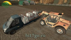 Мод «JollyDodgers BigBags» для Farming Simulator 2017