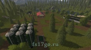 Карта «Mcs Agrarian World» для Farming Simulator 2017