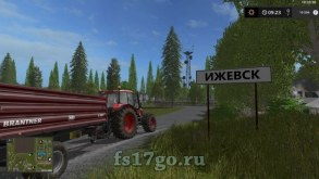 Карта «Регион 18» для Farming Simulator 2017