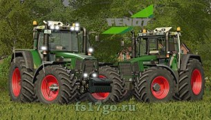 Мод «Fendt Favorit 800 Series» для Farming Simulator 2017