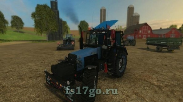 Мод «МТЗ-1221 Колхоз Тюнинг» для Farming Simulator 2015