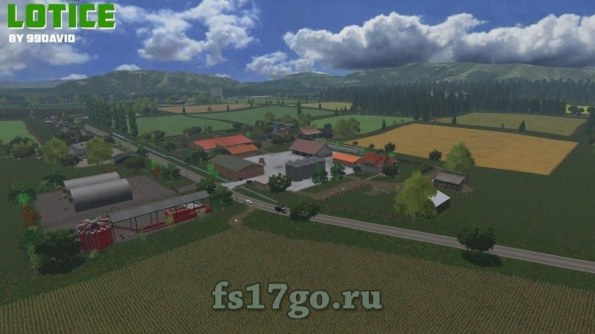 Карта «Lotice» для Farming Simulator 2017