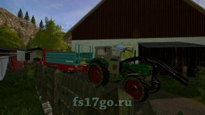 Мод «Deutz D80 4-wheel drive» для Farming Simulator 2017