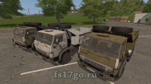 Мод «KAMAZ-5511 Edit by Guron» для Farming Simulator 2017